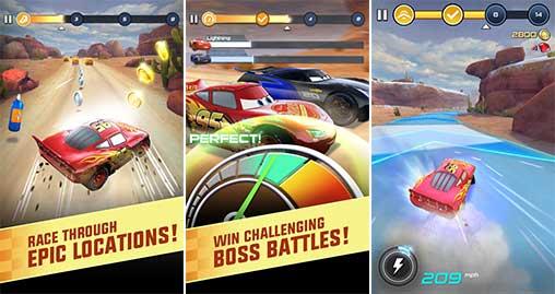 cars lightning league 16 apk  mod unlocked free